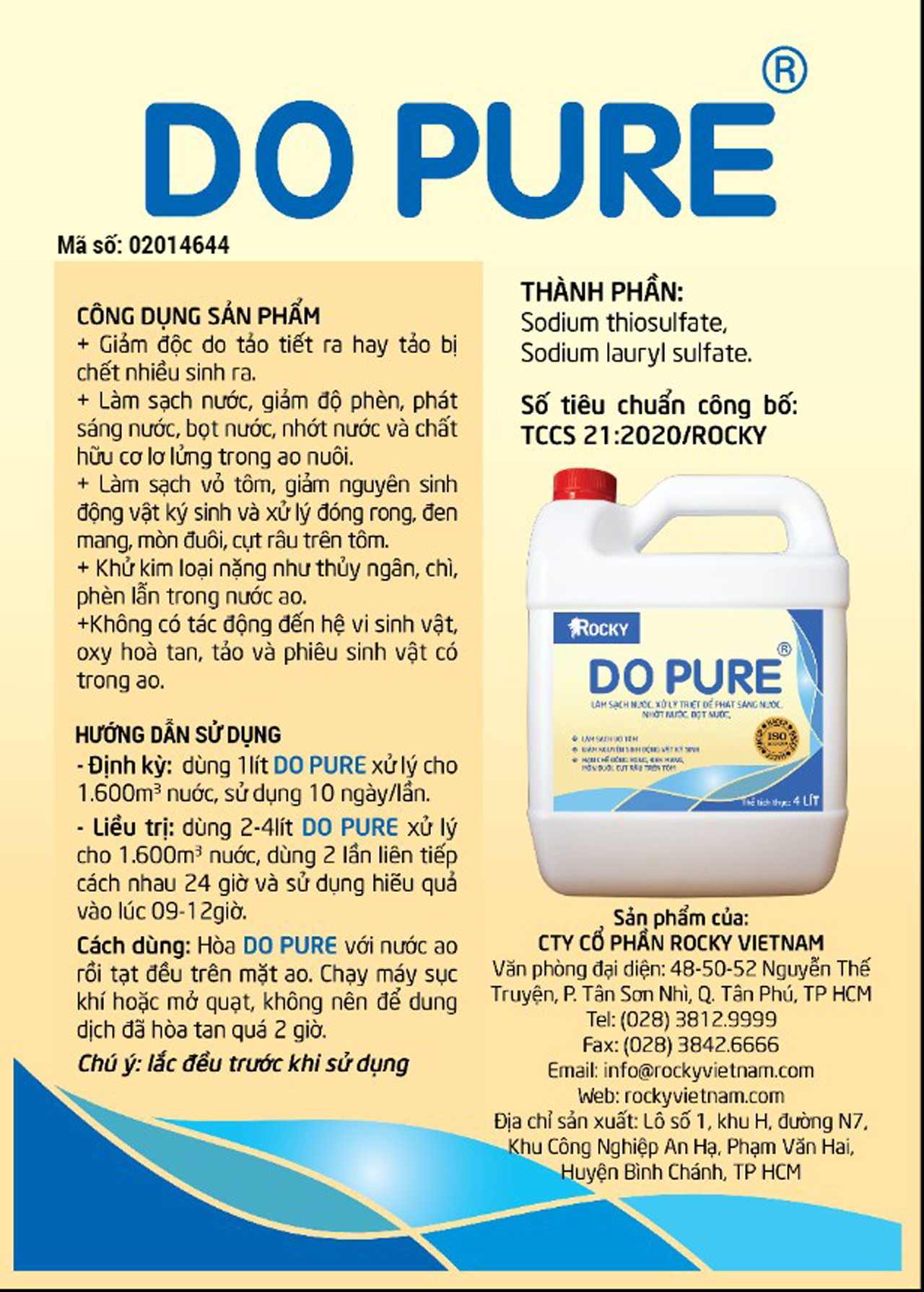 DO PURE  4 LIT B 1280
